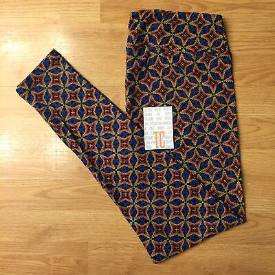 97b3ba1a1a0cbe LuLaRoe TC Blue and Yellow Leggings Blue background with yellow