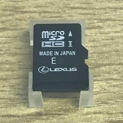 2018-2019 Lexus Premium Navigation Micro SD Card Sat Nav UK & EUROPE LATEST MAP