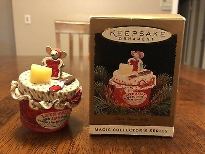 Hallmark Keepsake Ornament Chris Mouse Jelly Vintage