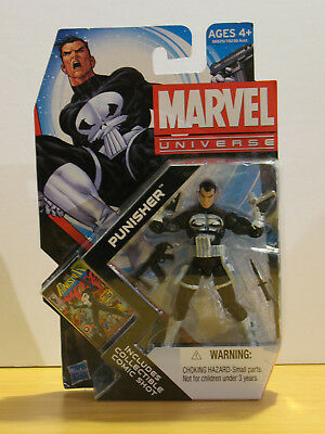 "Hasbro Marvel Universe 3.75"" Punisher Series 4 #013 2011"