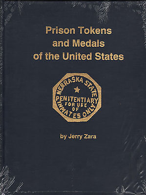 Prison Tokens + Medals of the United States Jerry Zara NEW Book Free ShippingUSA