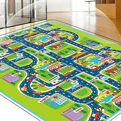 Baby Crawling Wonders Kids Play Mat Gym Road Reversible Infants Children Floor
