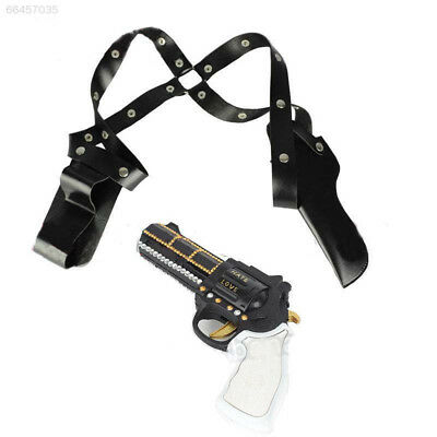 3245 Suicide Squad Harley Quinn Gun Holster Sheath Case Straps Belt Cosplay Cost