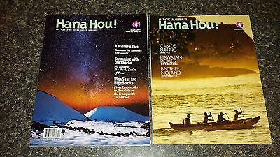Hawaiian Airlines Hana Hou in flight Magazine 2015/2016 English and Japanese