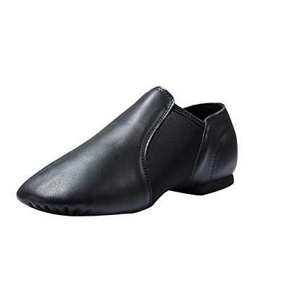 Linodes Leather Jazz Shoe Slip On for Girls and Boys(Toddler/Little Kid/Big Kid)