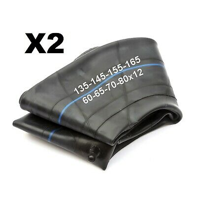 2 Trailer 12'' Wheel Tyre Innertube 135x12 145x12 155x12 165x12 60/65/70/80 Tube
