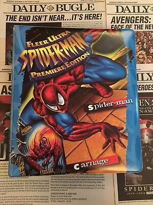 Marvel Fleer Ultra Spiderman Premier Edition 1995 All Chase Sub Sets Album