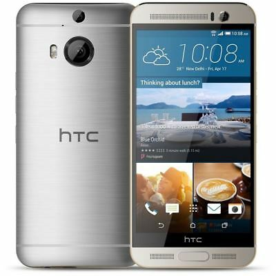 """HTC One M9+ Plus 4G LTE 5.2"""" 32GB Android Unlocked Smartphone Sliver"""