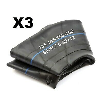 3 Trailer 12'' Wheel Tyre Innertube 135x12 145x12 155x12 165x12 60/65/70/80 Tube