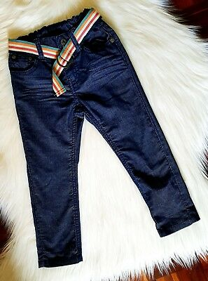 SPROUT - Size 2 belted denim look pants unisex