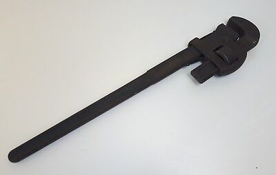 "RECORD 24"" Pipe Wrench / Stilsons Tool Quality Made In England"