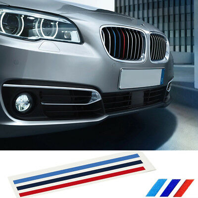 1Ps M Tech Color Front Grill Grille Badge Sticker Autos Emblems Decal For All