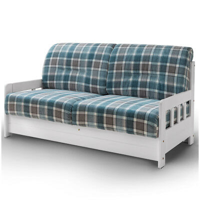 Schlafsofa 2 Sitzer Couch Mit Bettfunktion Turkis Campuso Sofa Couch