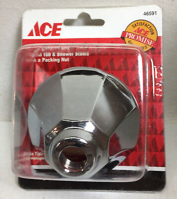 Ace Chrome Bell Style Flange And Nipple 46591 Nip