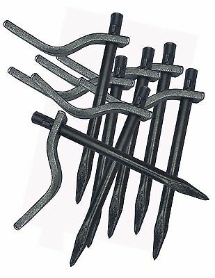 Dutch Pins Masons Pegs Bricklaying Plastering Profiles 140mm Pin Made in Germany