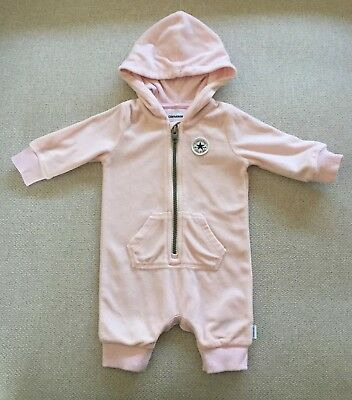 4fa9750bb304 CONVERSE ALL STAR Infant Tracksuit Girls Pink 3-6 Months - £24.99 ...