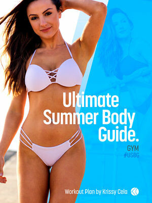 🆕💗 Krissy Cela - Ultimate Summer Body Guide Gym - super fast delivery!!