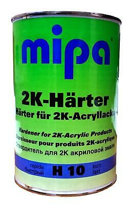 MIPA H10 Fast Hardener Activator 1 Litre for use with MIPA Primer