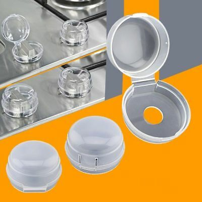 Stove Knob Covers 2 Pcs Clear View Safety Kitchen Gas Range Knob Cover Baby Care