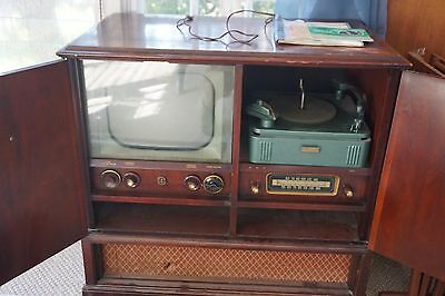 1951 Philco Entertainment System with paperwork! Working Condition! Rare