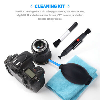 Professional Portable 7 in1 Lens Cleaning Kit Cleaner For Canon Nikon DSLR Cam