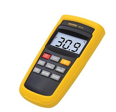 Martindale DT173 Single Input K Type Digital Thermometer