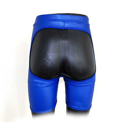 Men`s Leather Pants With Exposed Hips Size XL (2764)