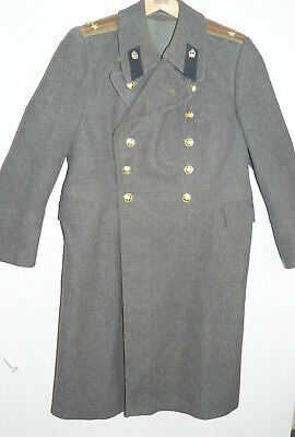 Soviet Army Russian Officer Daily Winter Coat Cloak Uniform USSR Small Size