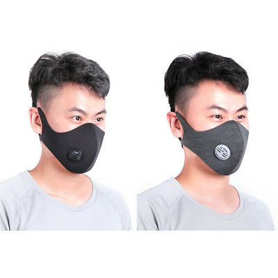Road Bike Riding Dust-proof Half Face Mask Activated  Carbon Filtered Respirator