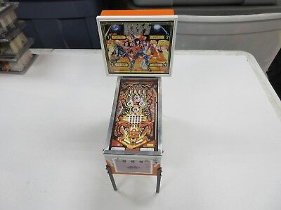 Bally Kiss Music Band Miniature Pinball Game Replica