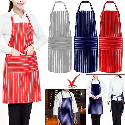 Apron Cooking Kitchen Chefs Baking Chef Pocket Plain BBQ Personalised Catering