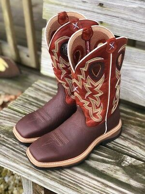 65bc8b55d99 TWISTED X MEN'S Lite Cowboy Dark Brown Lacer Alloy Toe Work Boot ...