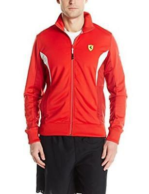 New PUMA Men's Ferrari Sf Track Jacket, Classic Res sz 2XL
