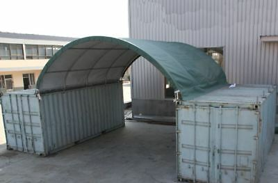 20ft (6m) Container Tent Shelter New in Box animal shelter temporary building