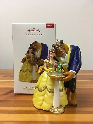 NEW HALLMARK 2018 Belle and Beast Ornament (LIMITED EDITION REPAINT)