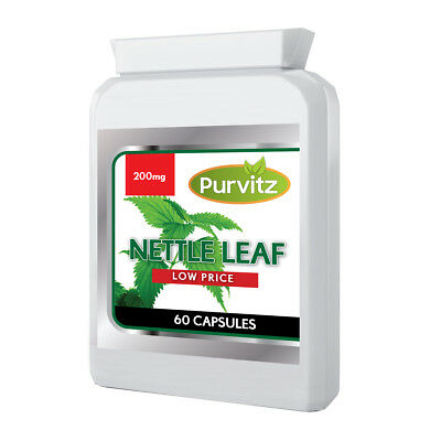 Stinging Nettle Leaf Capsules Extract Whole Herb Natural Made UK Purvitz