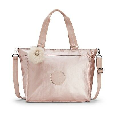 3cddf6c9ded KIPLING ART M Large Travel Tote In Metallic Blush BNWT - EUR 104,83 ...