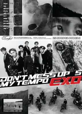 Exo The 5th Album 'Don't Mess Up My (Allegro Ver.) - Exo (2018, CD NEUF)