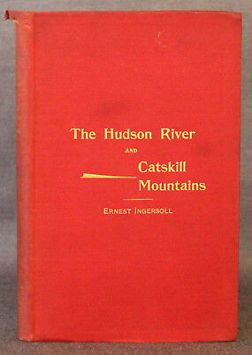 Ingersoll, RAND, McNALLY & CO.'S ILLUSTRATED GUIDE HUDSON RIVER CATSKILLS 1893