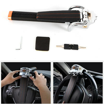Car Steering Wheel Anti-theft Three-direction Airbag Lock Safety Hammer Gray US