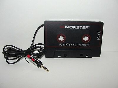 Monster iCarPlay 800 Cassette Tape Adapter for Car for iPod, iPhone, Android
