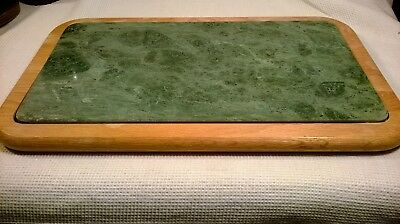 Vintage Cornwall With Green Marble Cutting Board