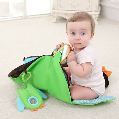 Soft Cotton Baby Kids Play Mat Floor Rug Game Gym Activity Crawling Blanket Cute