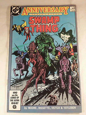 SWAMP THING : Anniversary (Issue #50 1986) VF/NM, 9