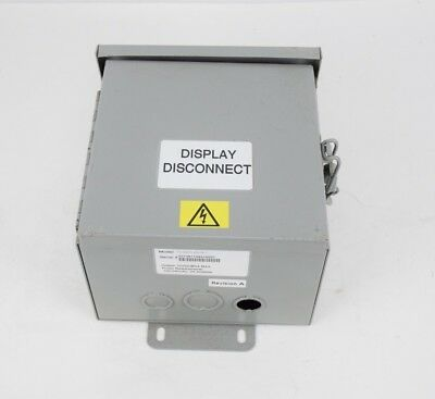 3M 75-0301-6576-7 Disconnect Breaker Sign Power Box Traffic Control