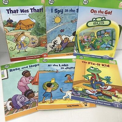 Leapfrog Tag Readers Lot Of 6 Softcover Books