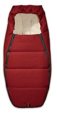 Joolz Geo Sleeping Bag / Footmuff. Earth Collection Lobster Red
