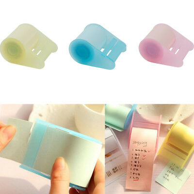 Sticky Notes Stationery Replaceable Self Adhesive Paper Roll Memo Pad Reminders