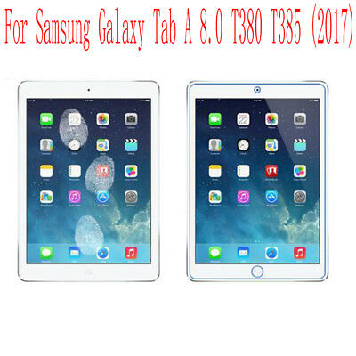 1-10xClear HD Screen Protector Film Cover For Samsung Galaxy Tab A 8.0 T385 T380