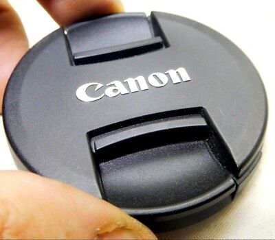 Canon E-58mm II EF-S Snap-on Plastic Front Lens Cap - Japan